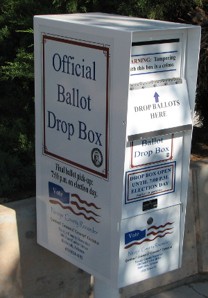 Ballot Drop-Box